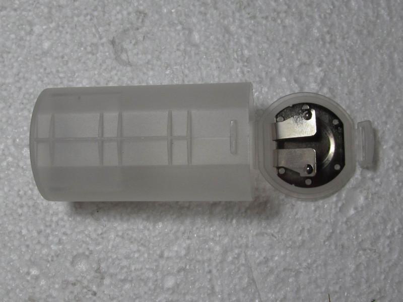 открытый переходник с 2 шт. AA на D