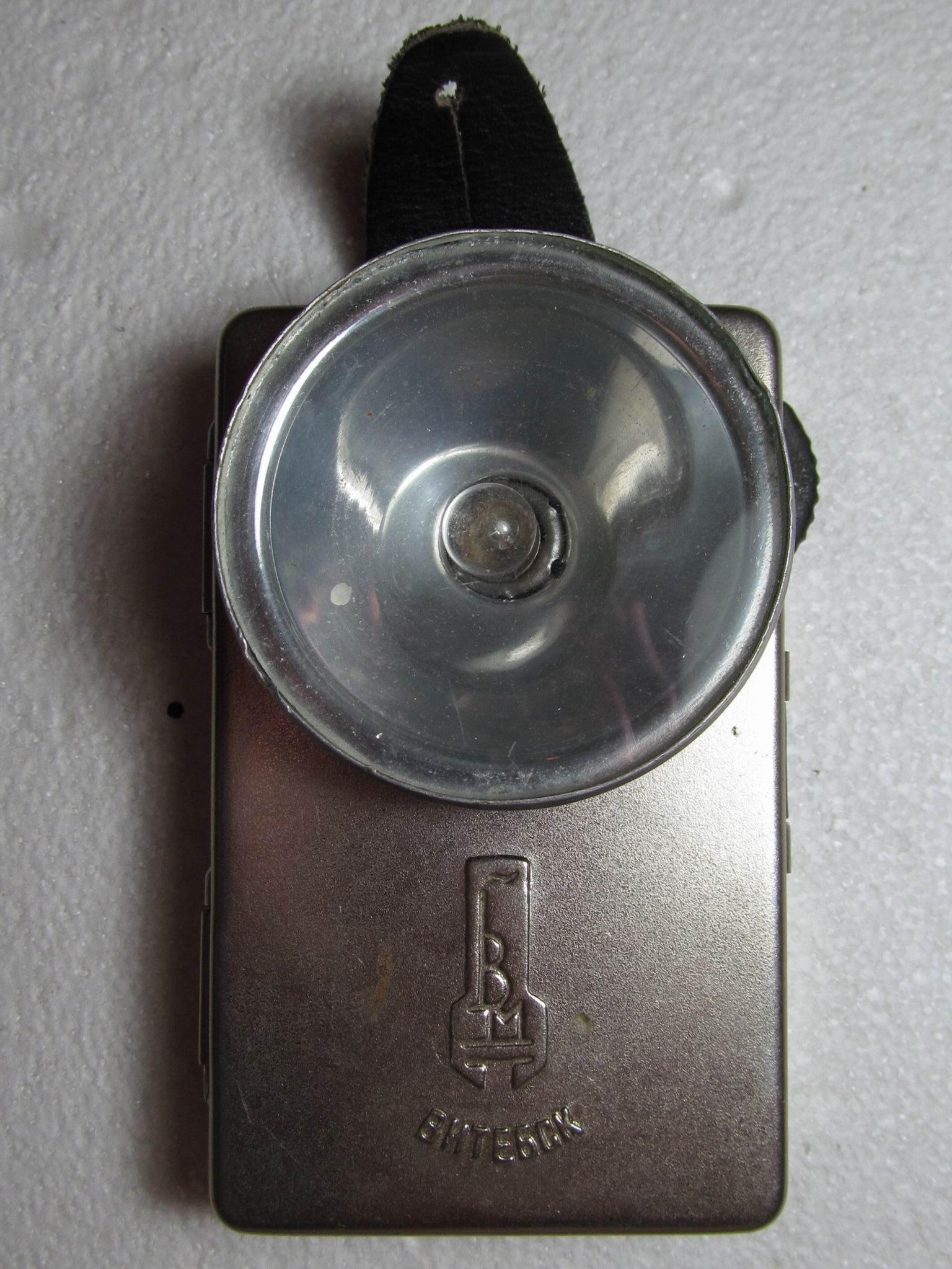фонарик на батарейке 3r12
