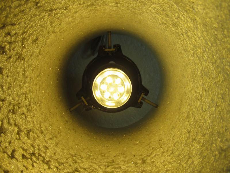 лампочка в действии