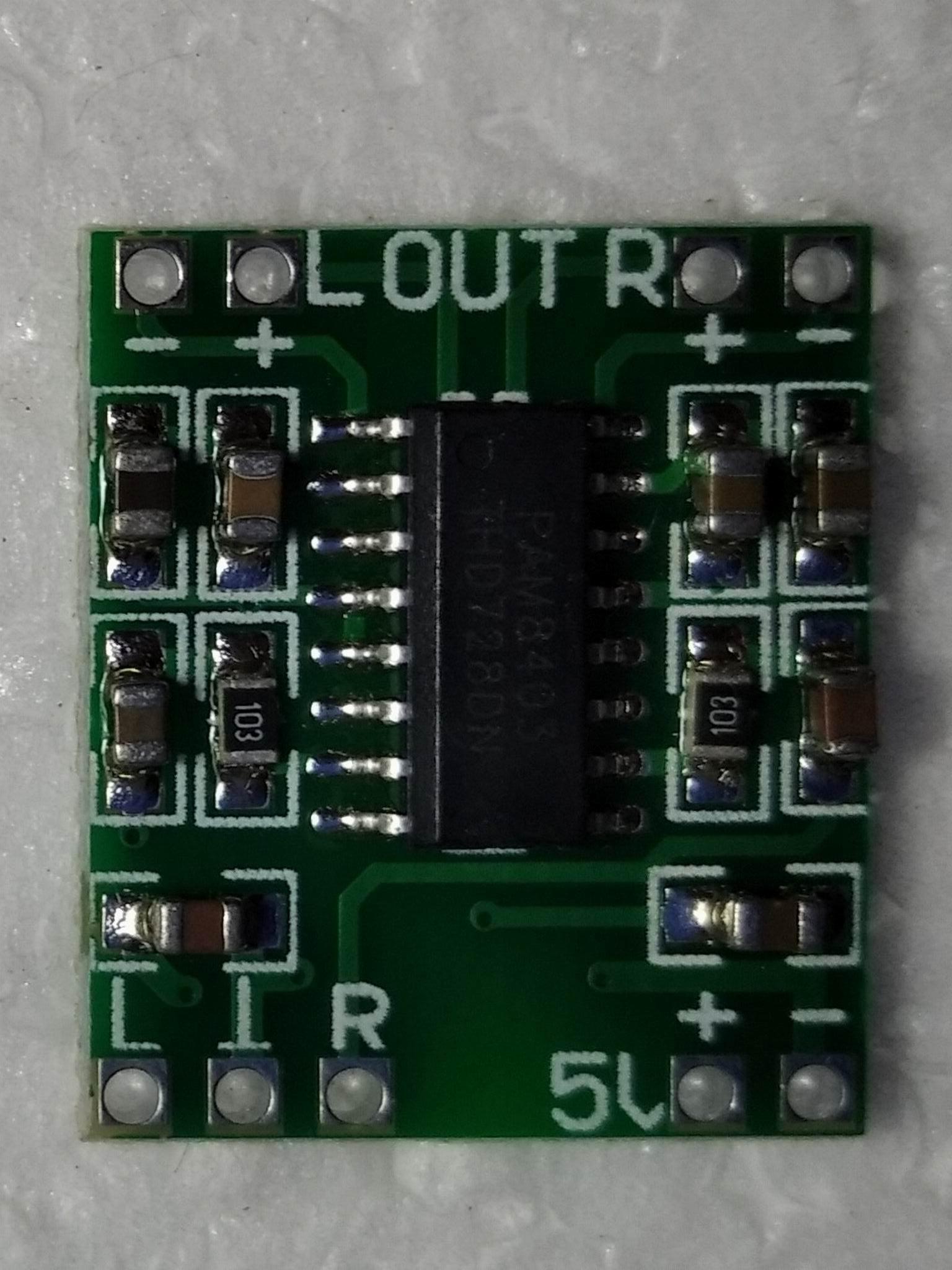 pam8403 без регулятора громкости