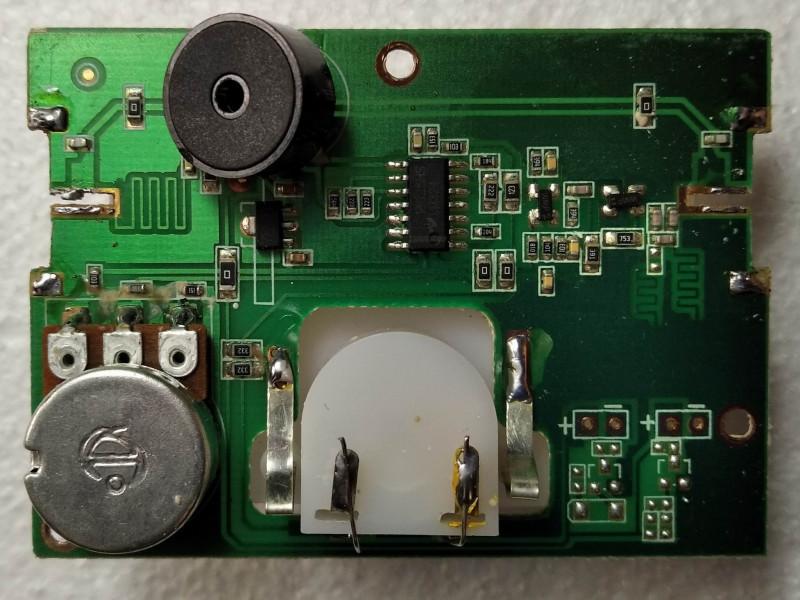 видна микросхема LM324