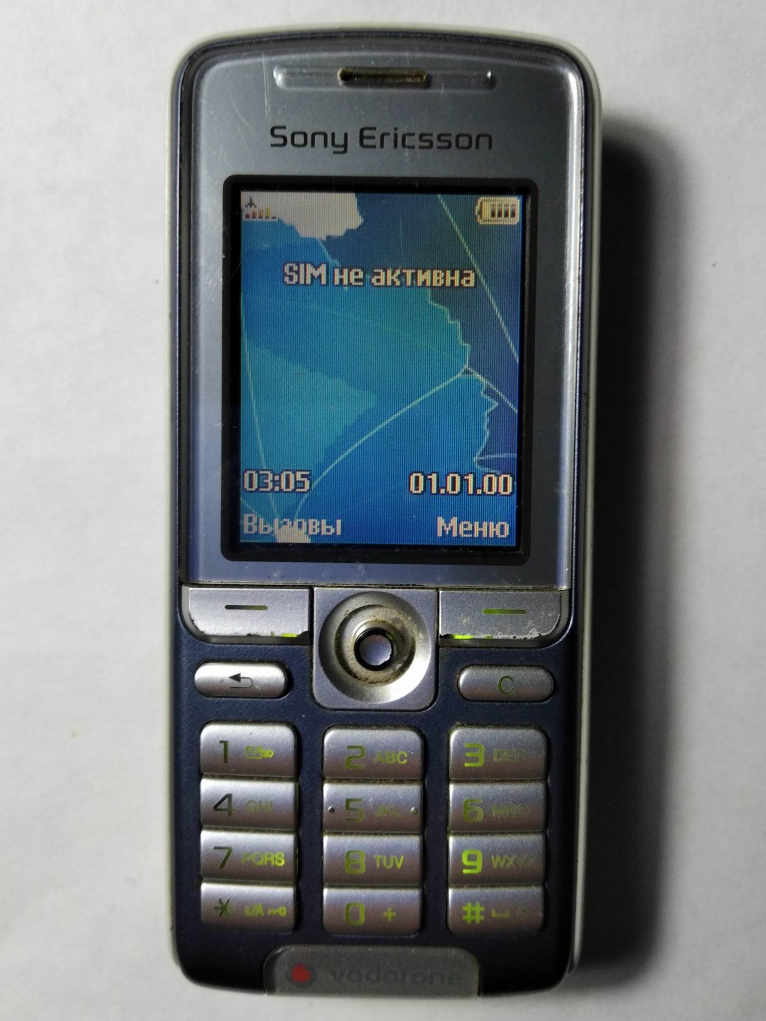 Sony Ericsson K310i спереди