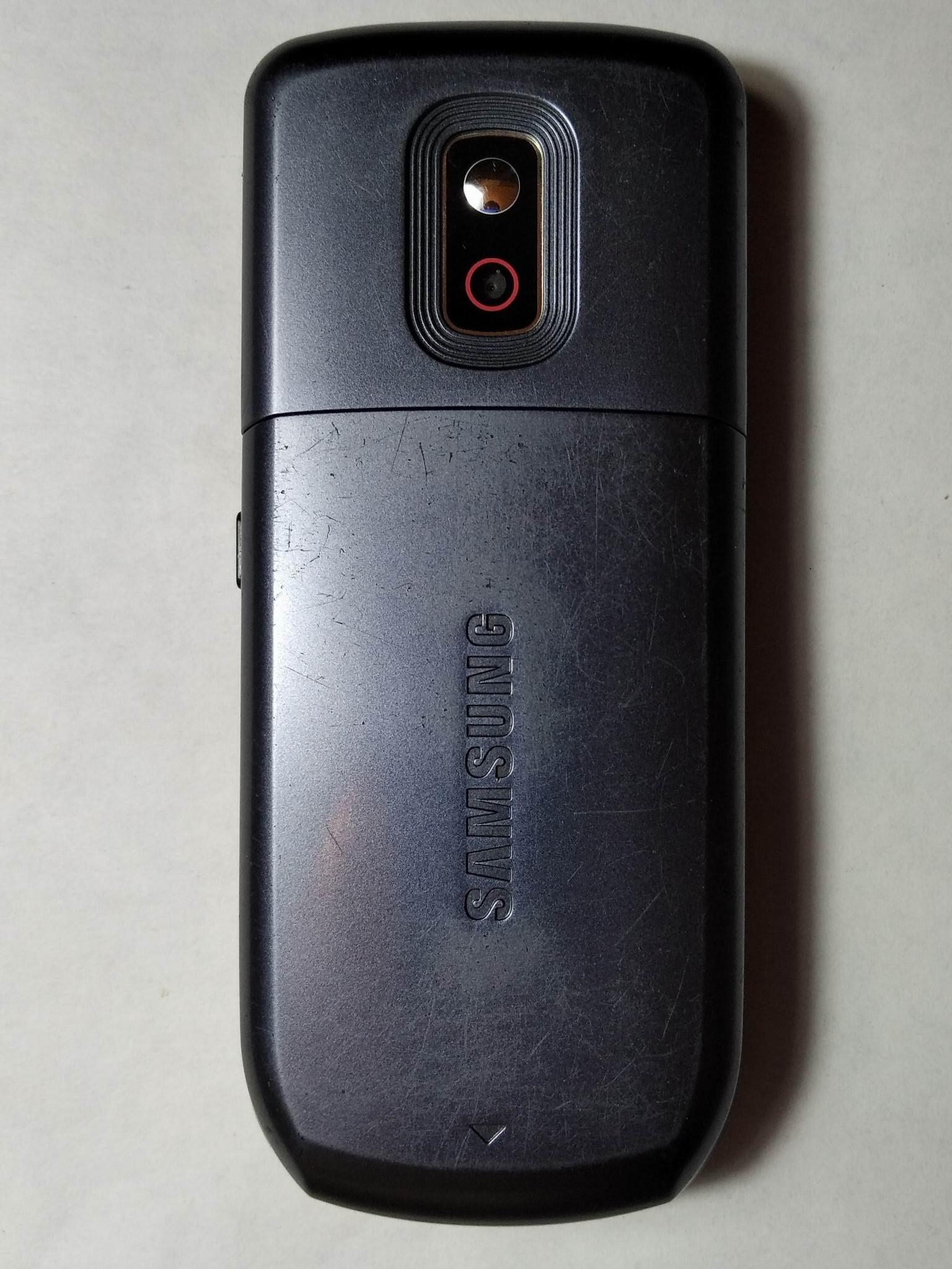 Samsung C3212 DuoS сзади
