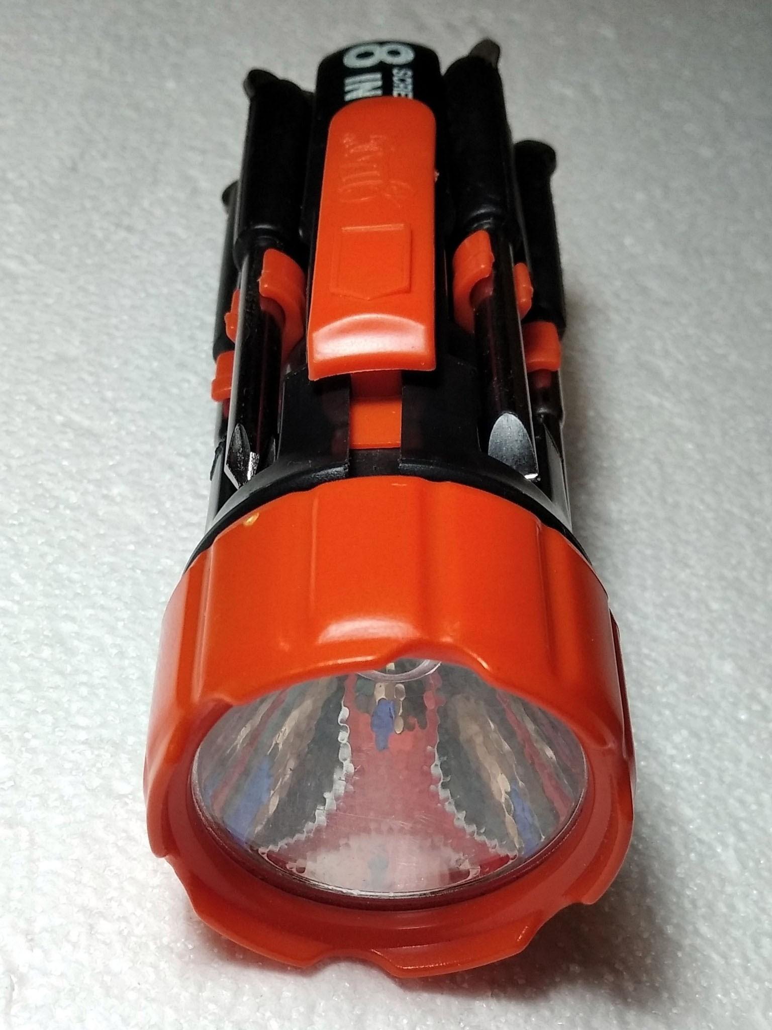 фонарик со стороны отражателя
