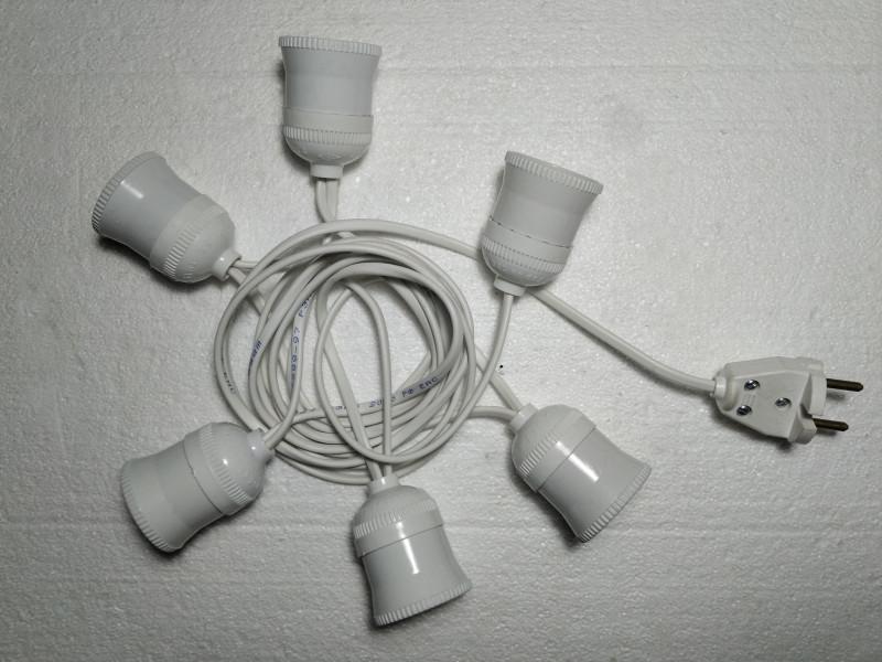 готовая гирлянда без лампочек