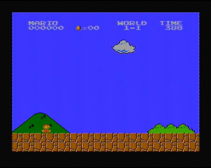 скриншот из игры Mario