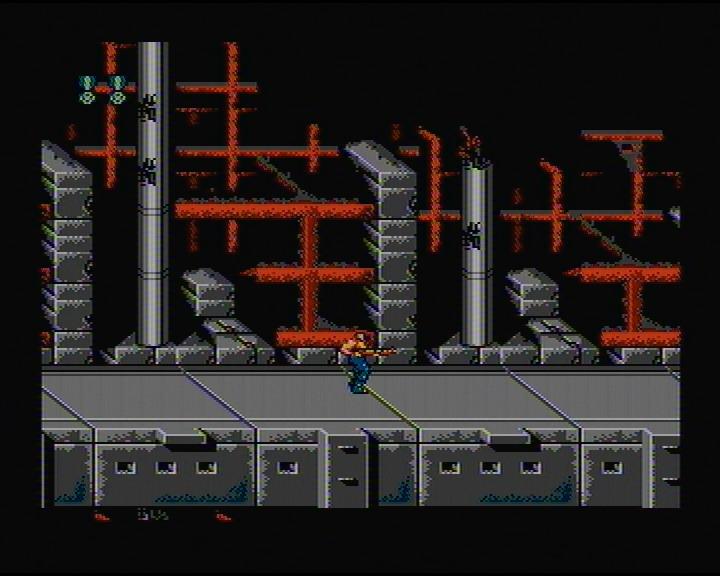 скриншот из игры Contra