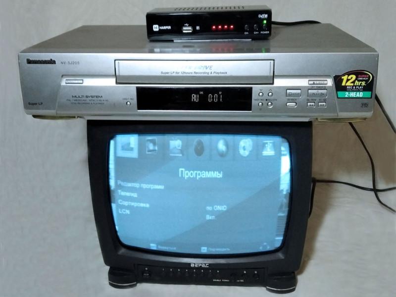 подключена приставка к старому ТВ