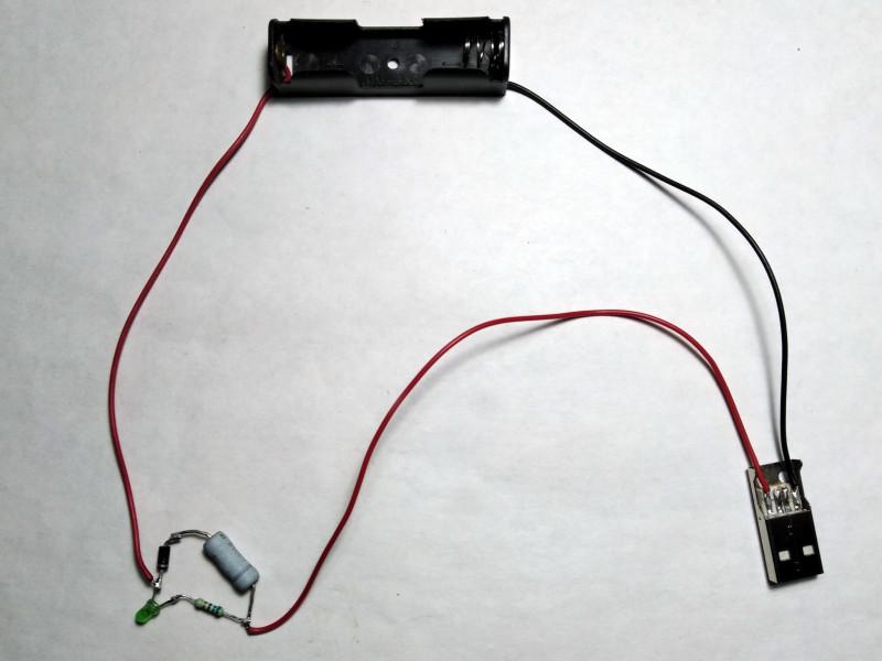 прототип самодельного зарядного устройства