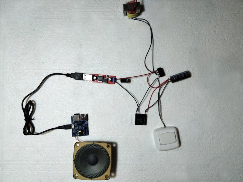 мой прототип дверного звонка