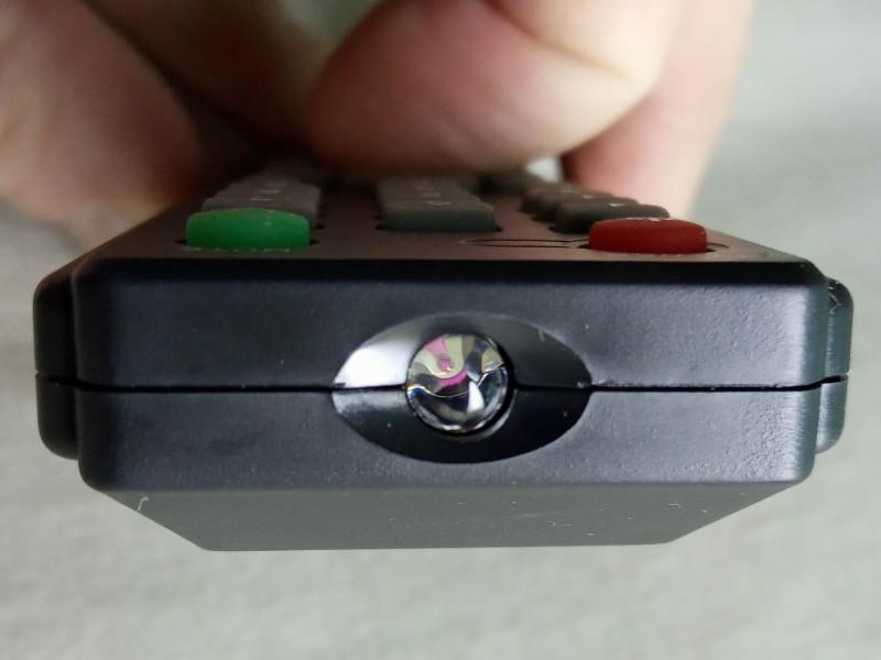 проверка пульта через камеру мобильного телефона