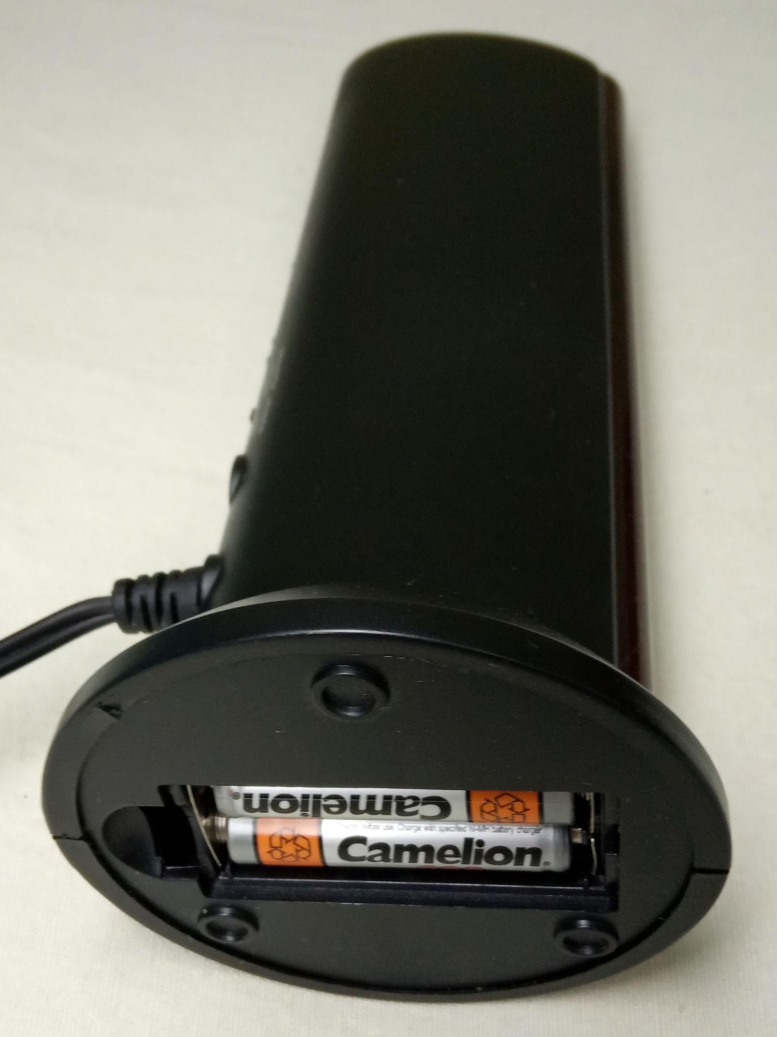 аккумуляторные батарейки в передатчике