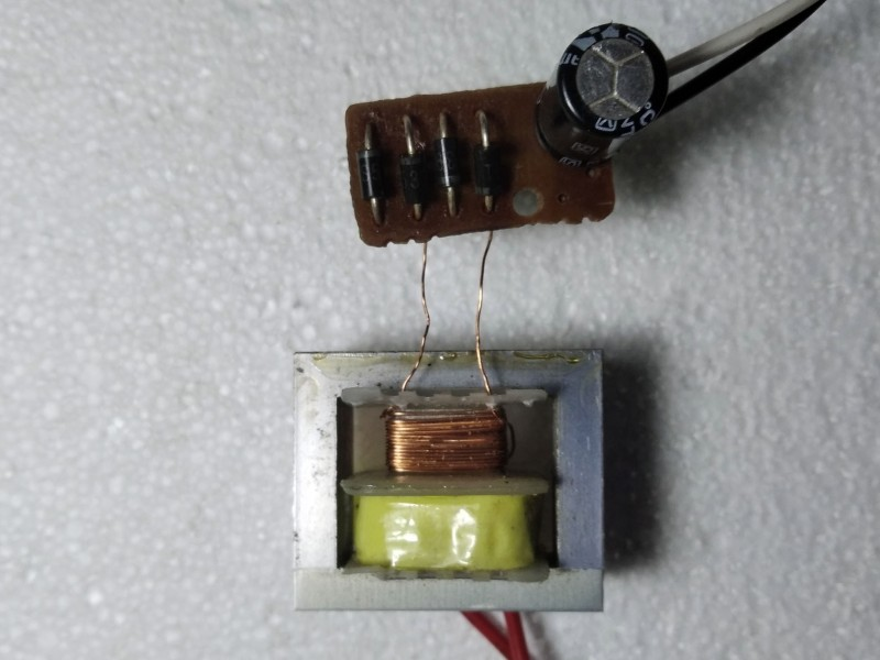 трансформатор с выпрямителем