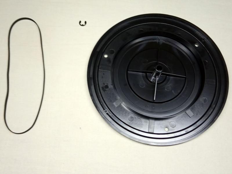 опорный диск, фиксатор и ремень