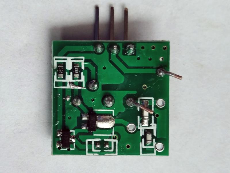модуль со стороны транзисторов
