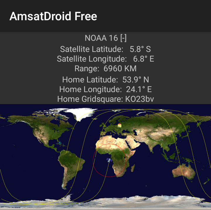 AmsatDroid Free