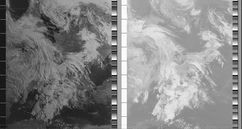 снимок с NOAA-19