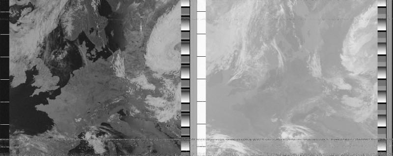 Снимок с NOAA-15