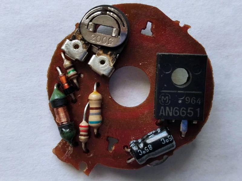 регулятор на микросхеме AN6651