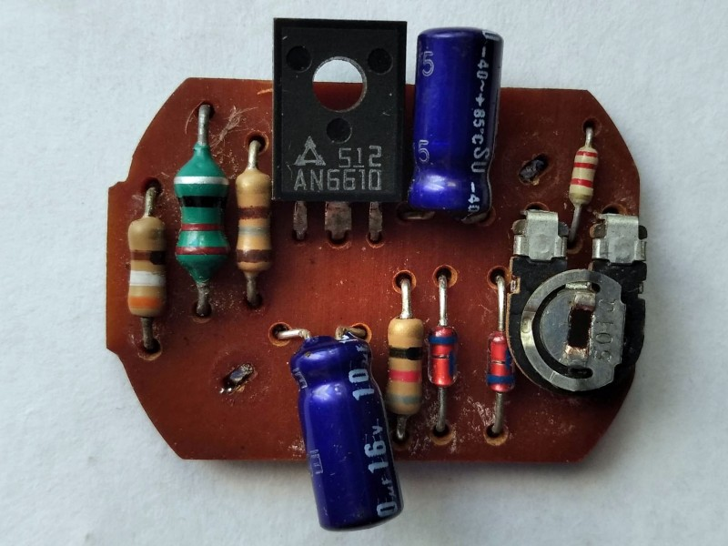регулятор на микросхеме AN6610