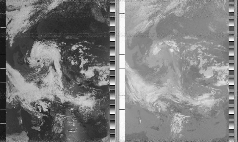 снимок с NOAA-18
