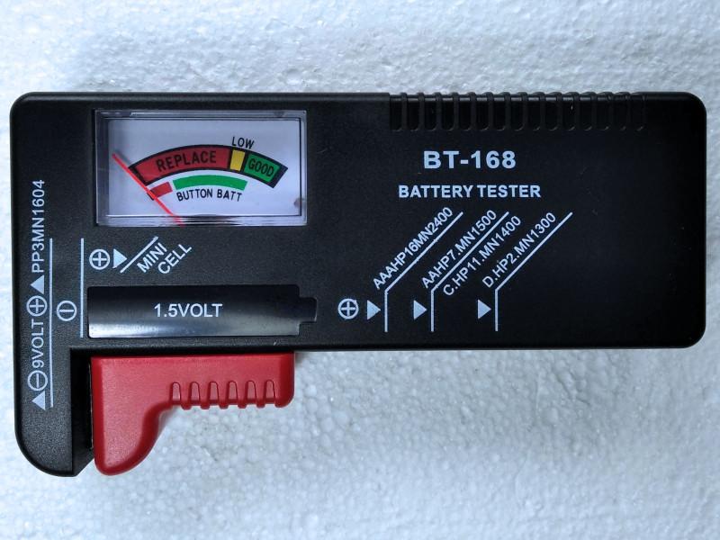 прибор для проверки батареек