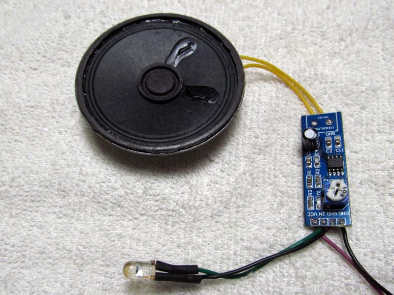 макет устройства для проверки пультов