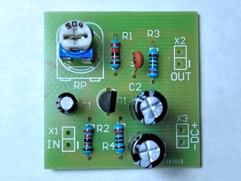 предварительный усилитель на транзисторе S9013