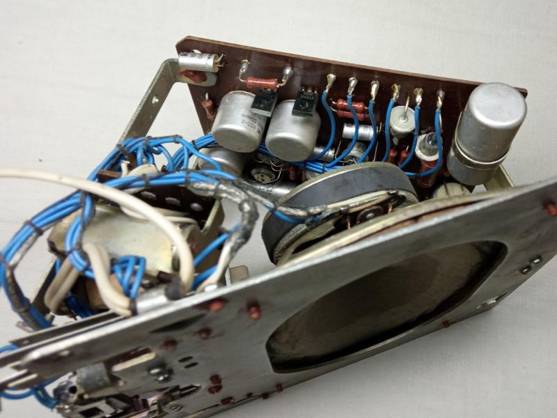 видны транзисторы