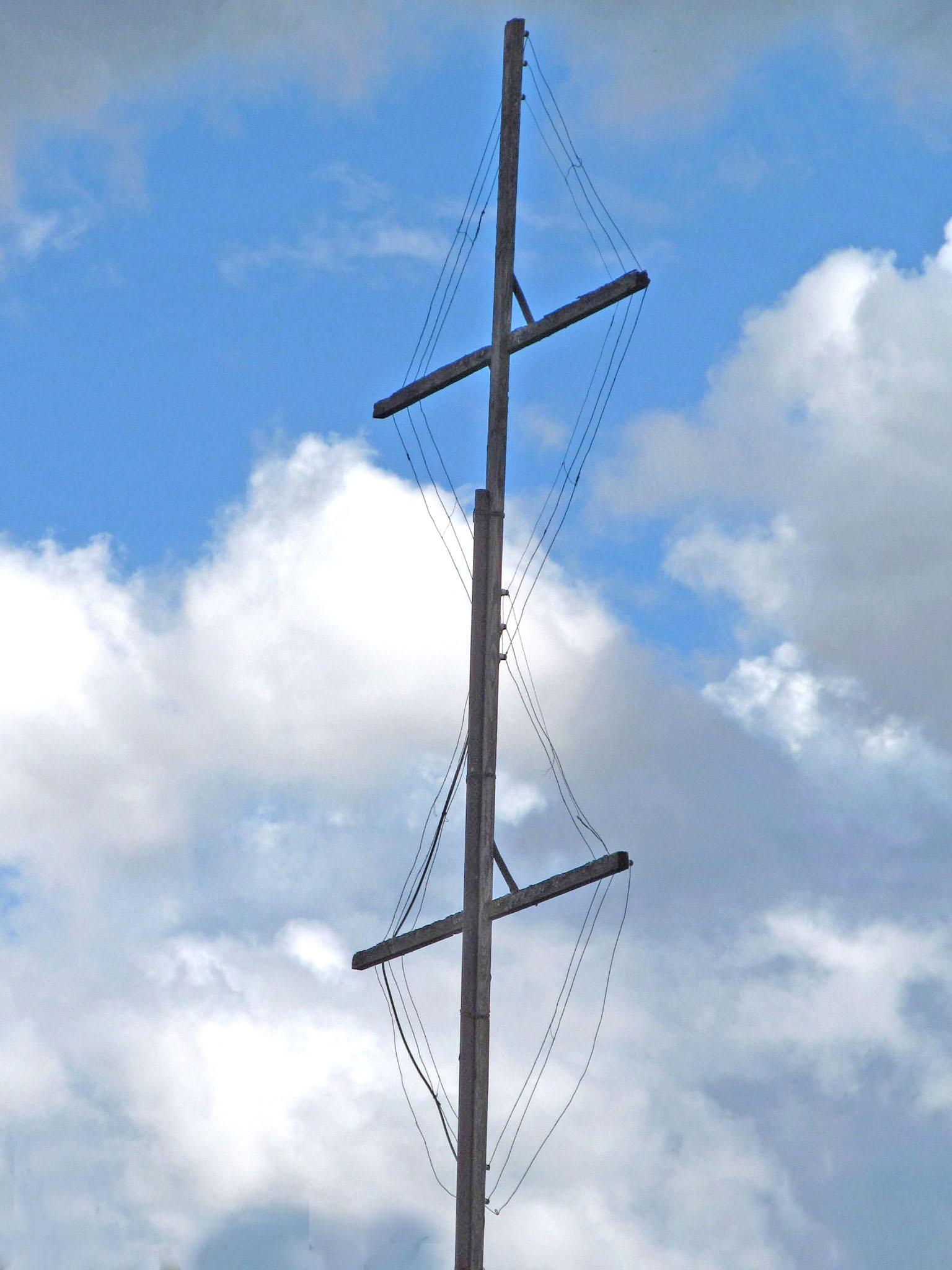 антенна сбоку