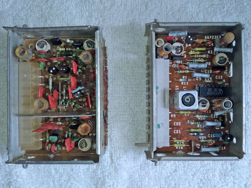 слева УКВ-1-03с, справа УКВ-1-05с