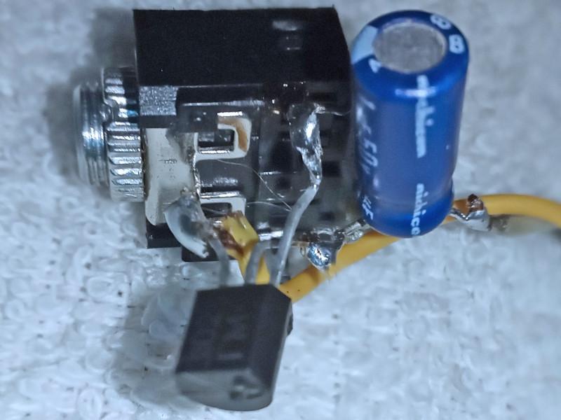 предварительный усилитель на транзисторе КТ3102