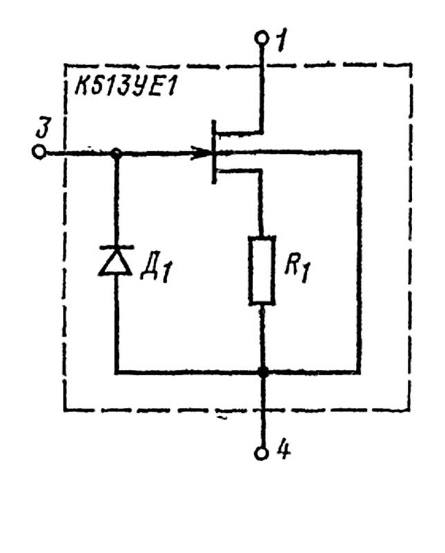 схема К513УЕ1А