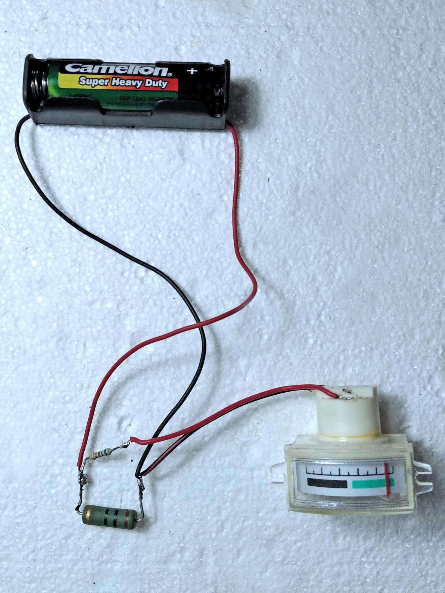 пригодная к использованию батарейка