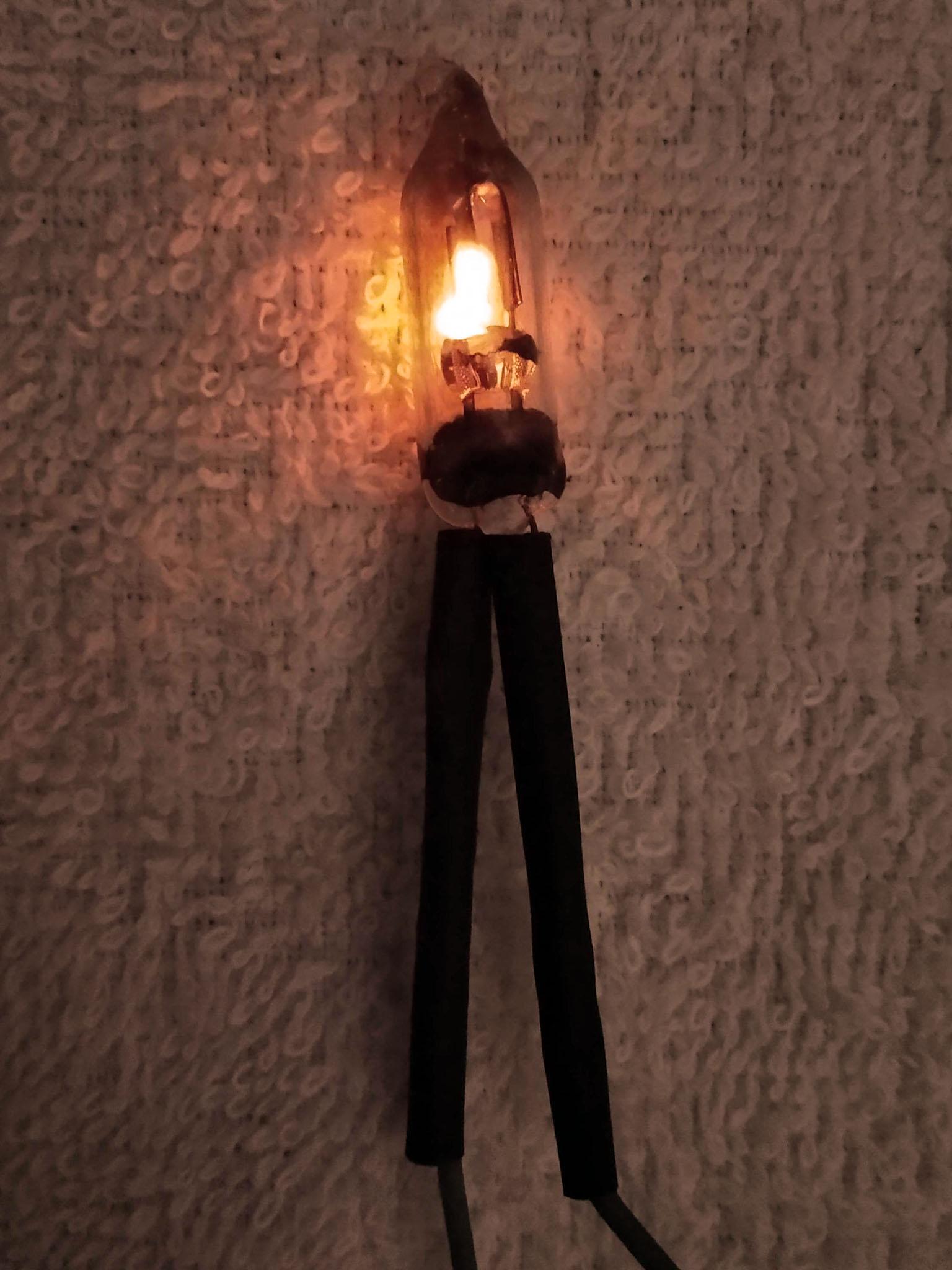 в работе в темноте