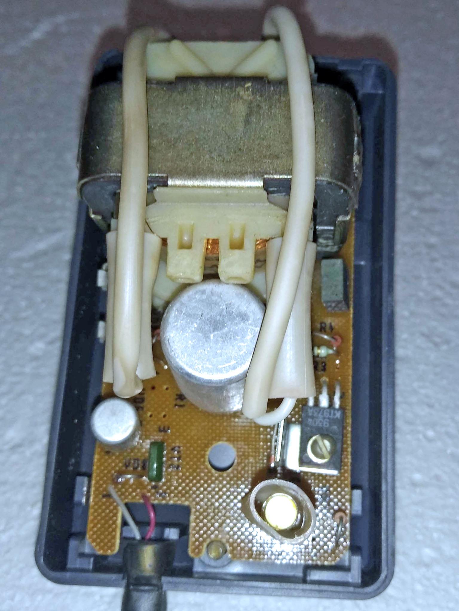 Берестье БП-039 внутри