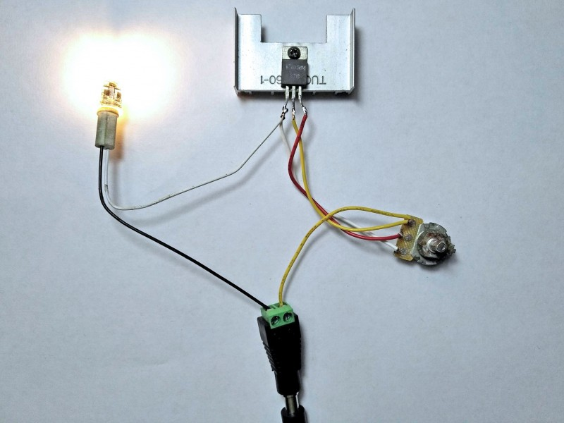 максимальное свечение светодиодной лампочки
