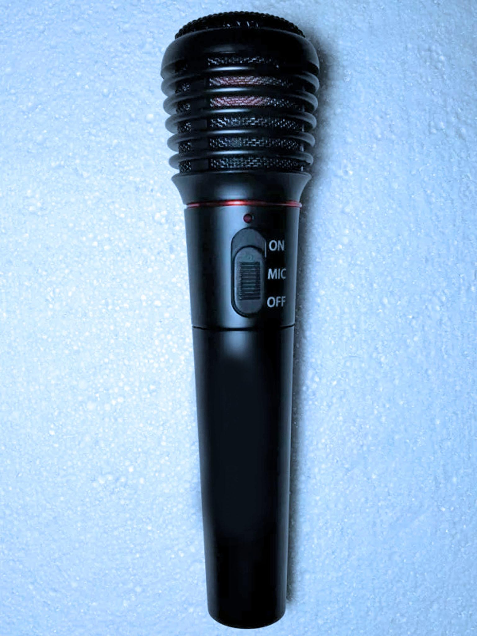 дешевый беспроводной караоке микрофон