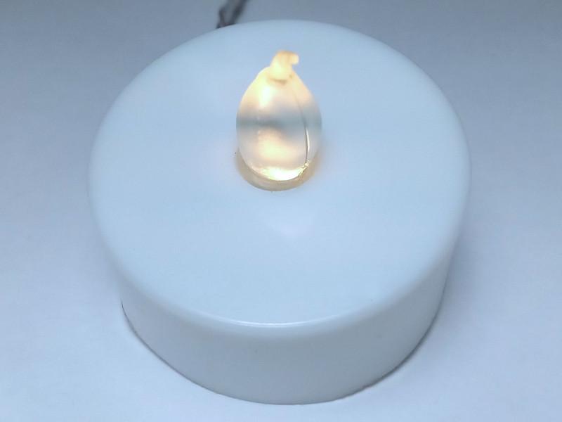 свечка работает от розетки