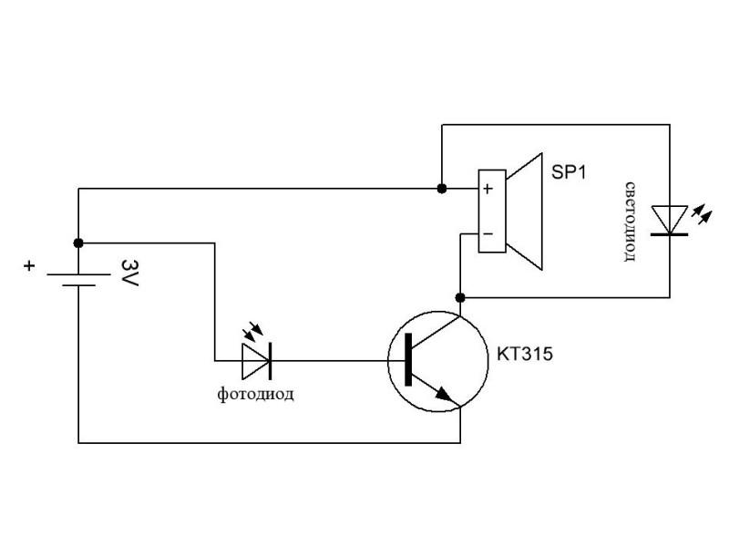 схема устройства для проверки пультов