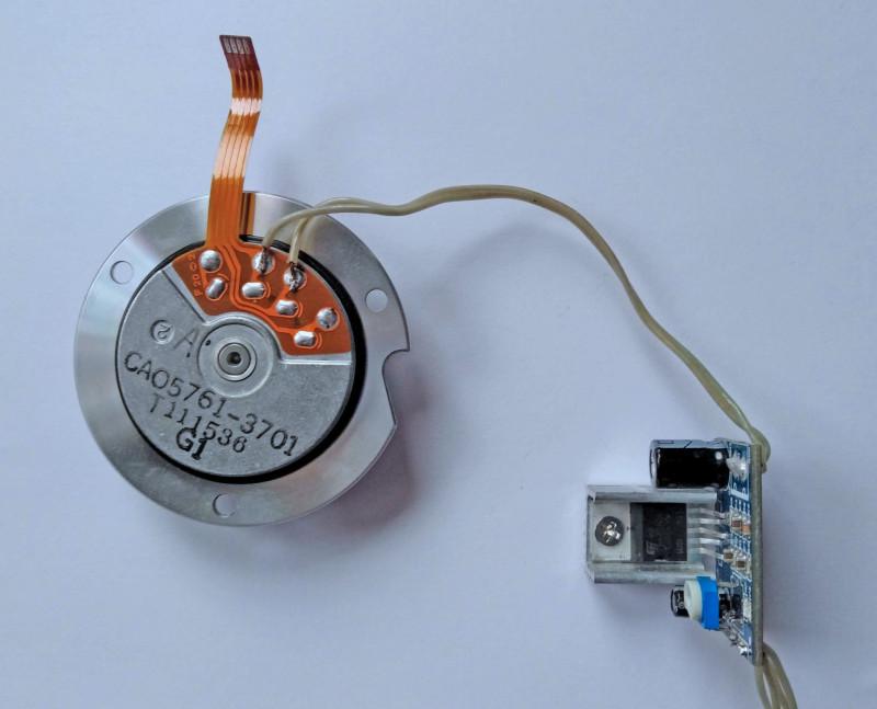 подключен к TDA2030A