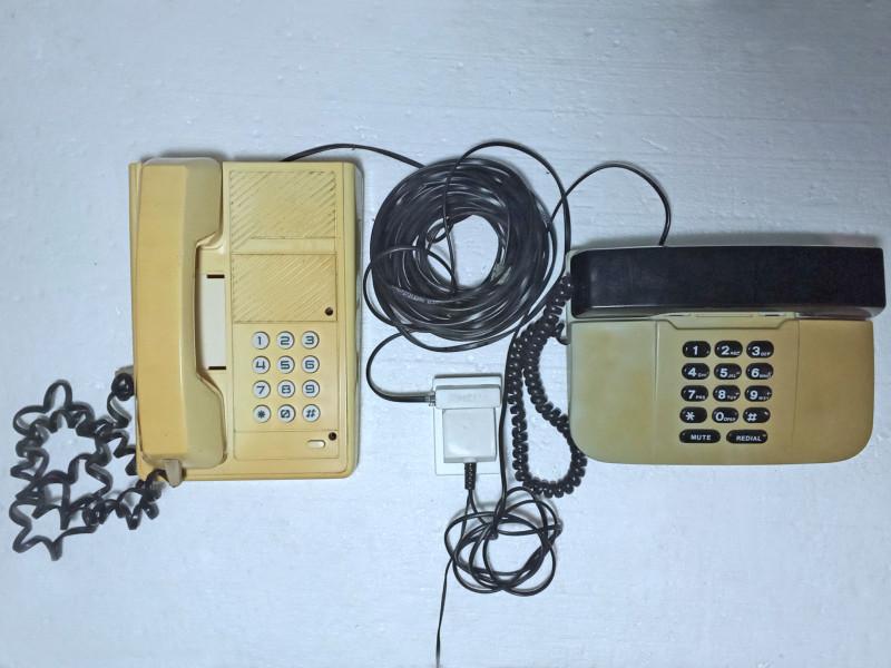подсоединены телефоны