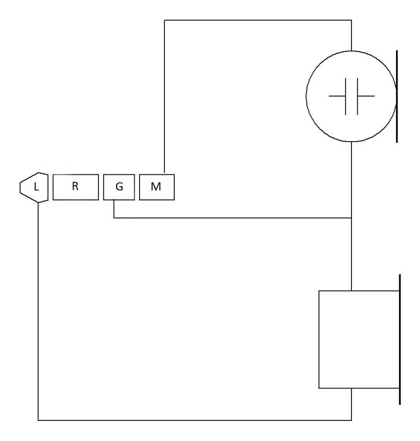 схема гарнитуры из трубки