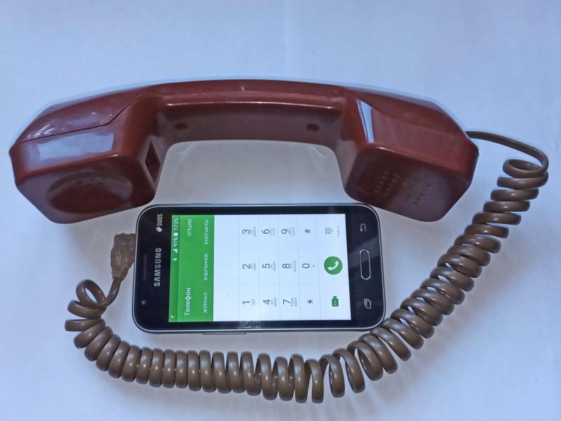 подключена к смартфону