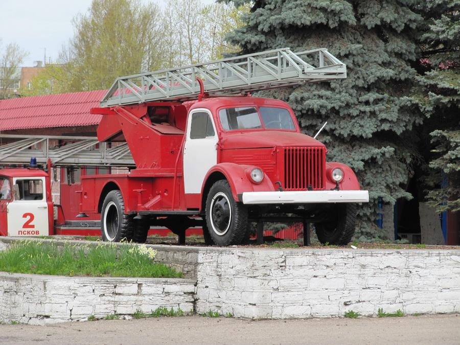 Пожарный автомобиль АЛГ-17 на шасси ГАЗ-51 (г. Псокв, ул. Вокзальная)  (3)_resize