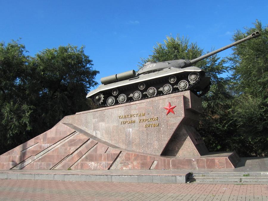 Курск, ИС-3, Бок