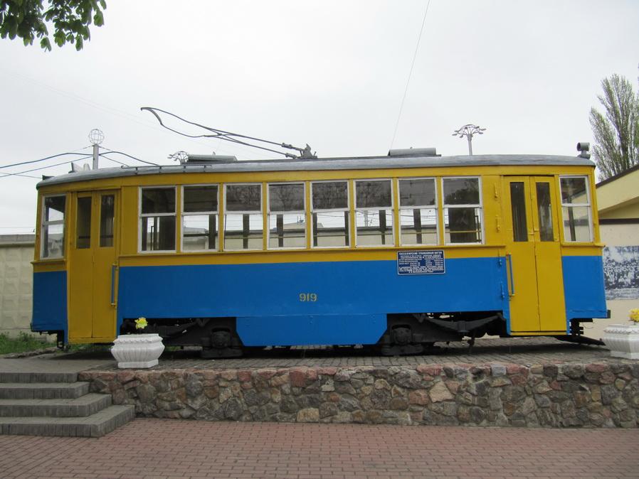 Трамвай серии '900' (2M) (Киев, Подольское трамвайное депо) (6)