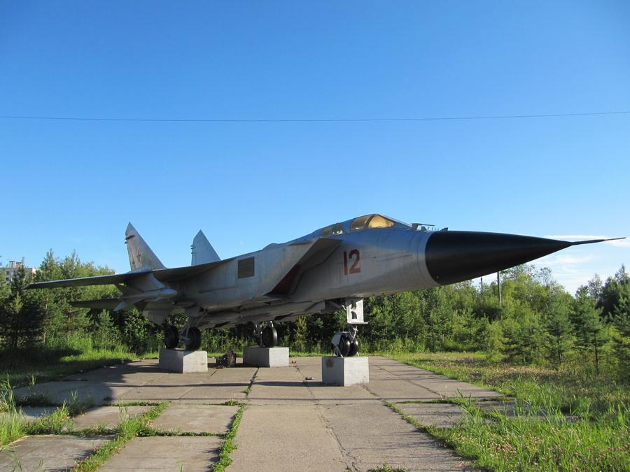 ) МиГ-31 (Архангельск, Талаги)