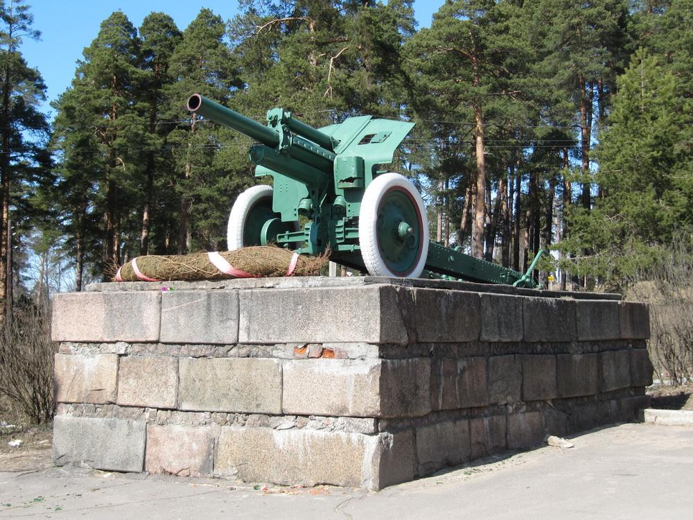 Для ЖЖ Гаубица М-30 (мемориал 'Лангина гора', г. Луга, Ленобласть) (5)