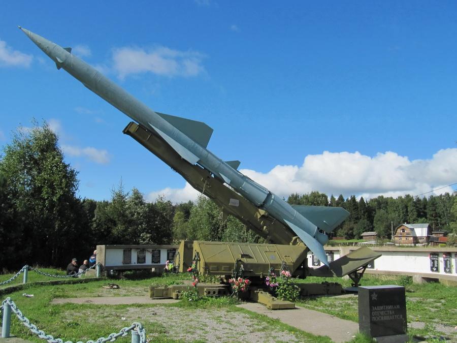 ЗРК С-75 Двина (с Вилга, Карелия) (8)